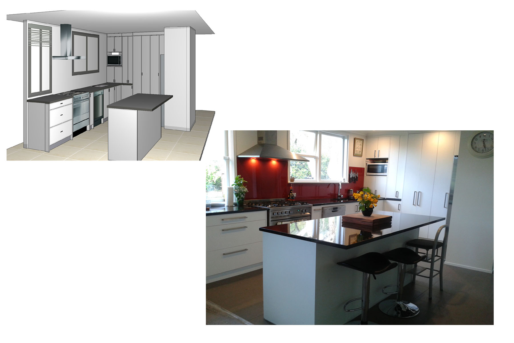 The process in pictures kitchens wellington for Fresh kitchen designs